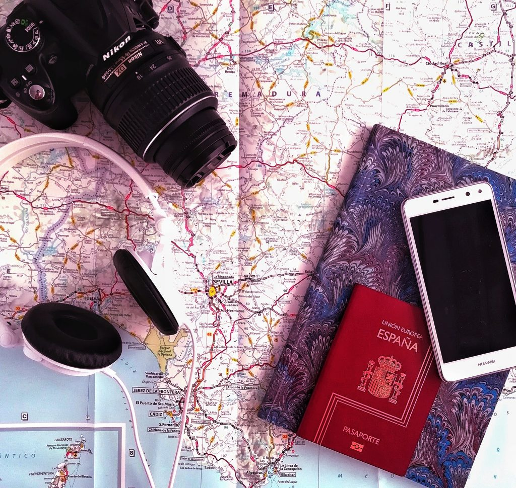 fotografia-flatlay-viajar